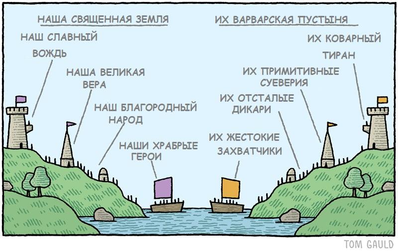 их карта и наша карта